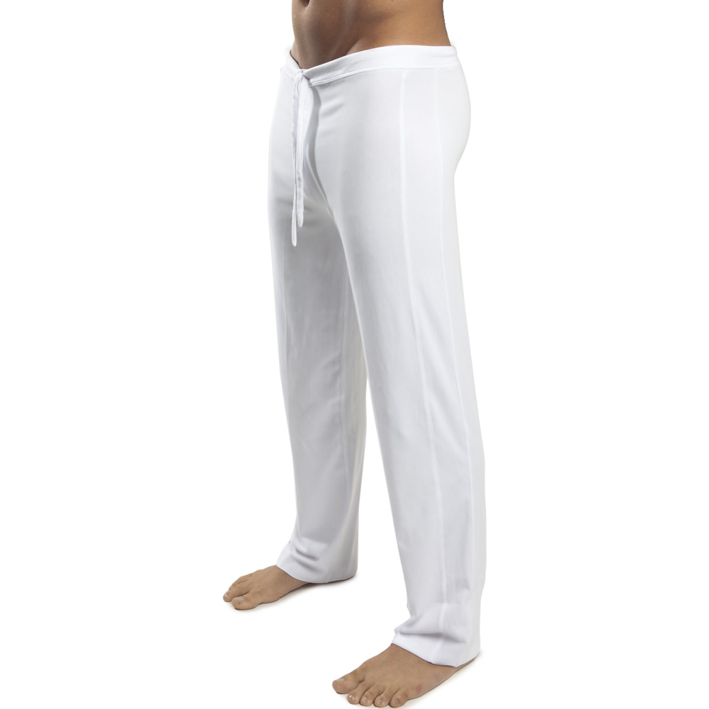 Jack Adams Relaxed Pant White Small - View #2