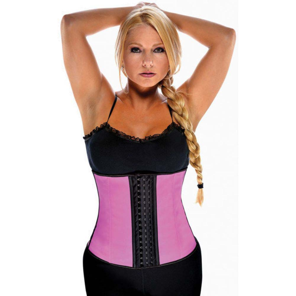 Gym Work Out Waist Trainers Hot Pink 3X - View #1