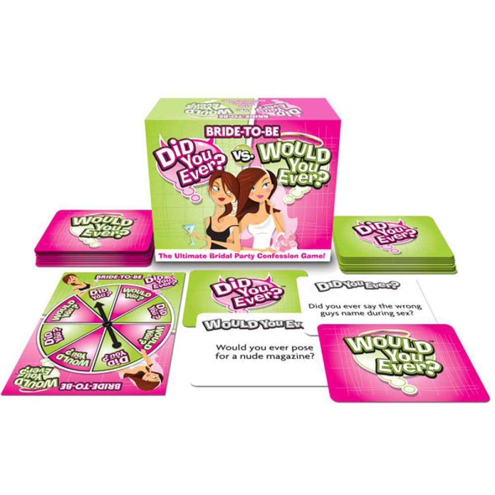 Bride-to-Be Did You Ever Vs Would You Ever - View #2