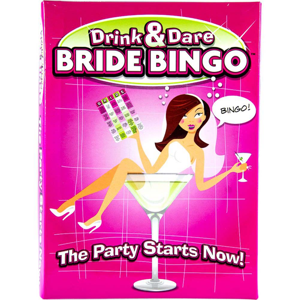 Drink and Dare Bride Bingo - View #1