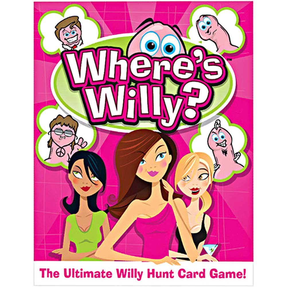 WhereS Willy Party Card Game for Ladies - View #1