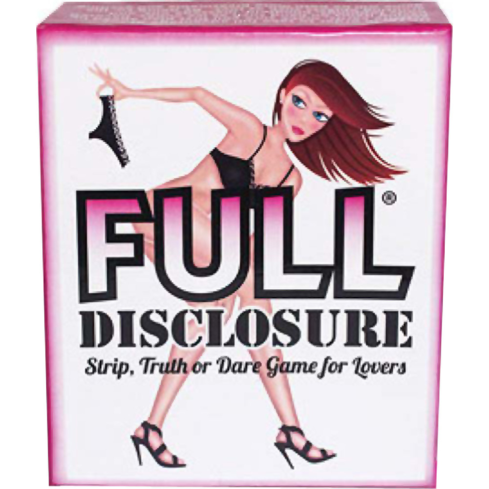 Full Disclosure Game - View #1