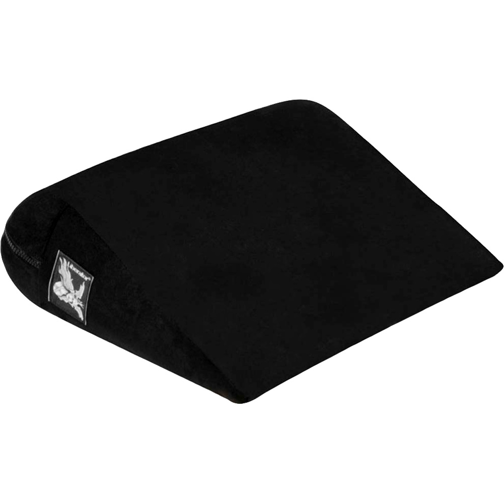 Liberator Jaz Motion High-Grade Foam Arched Pillow with Machine Washable Cover Black - View #2