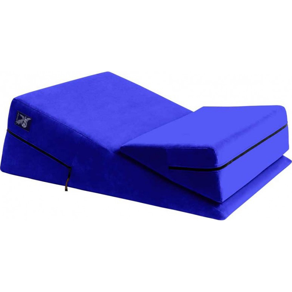 "Liberator 24"" Wedge and Ramp Combo Blue Microfiber - View #2"