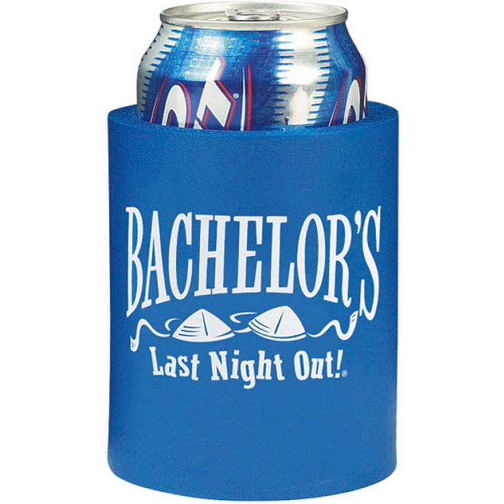 BachelorS Last Night Out Beer Can Cooler - View #1