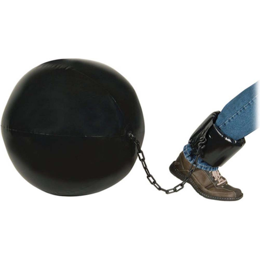 Inflatable Jumbo Ball and Chain - View #1
