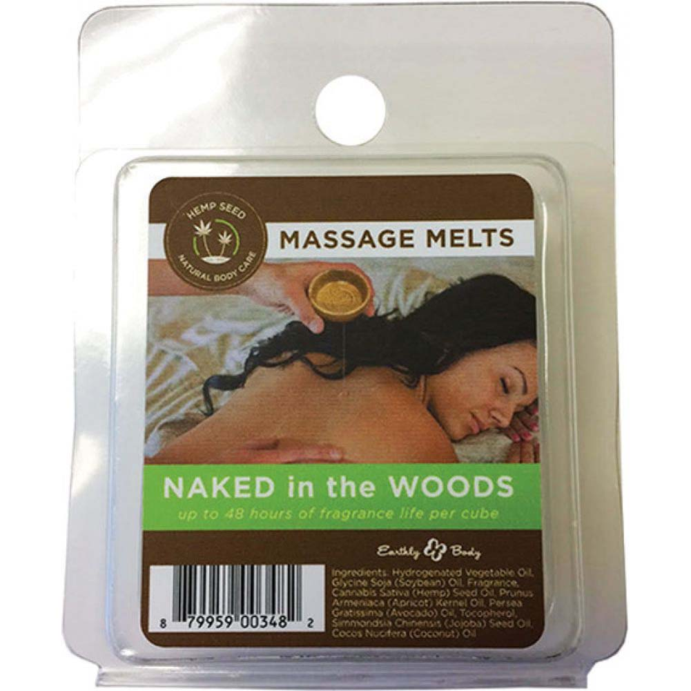 Earthly Body the Mood Set Refill Melts 4 Piece Pack Naked in the Woods - View #1