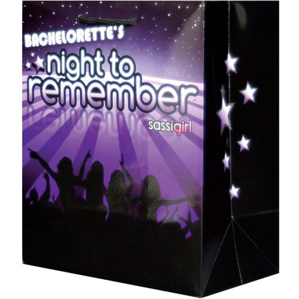 Bachelorette Night to Remember Gift Bag by Sassigirl - View #1