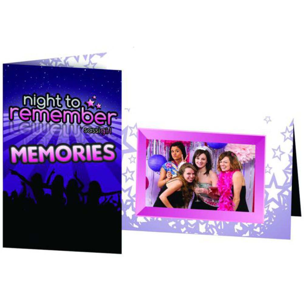 Night to Remember Photo Frame by Sassigirl 6 Piece Pack - View #1