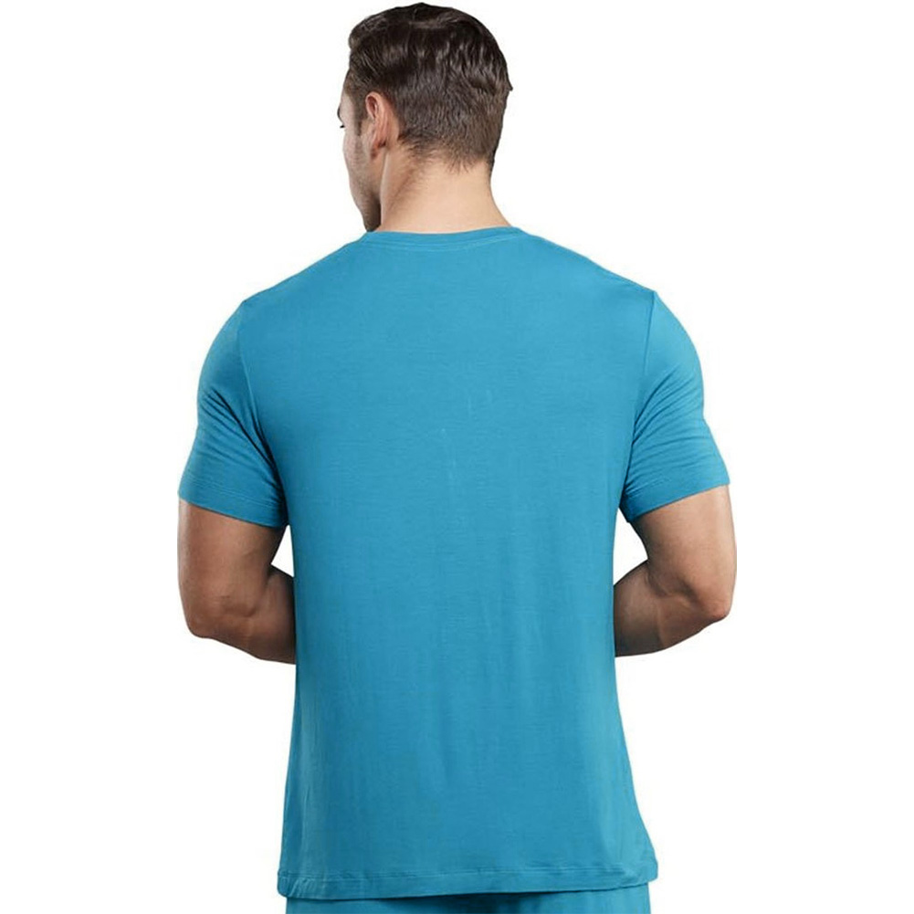Male Power Premiere Bamboo Tee Shirt Medium Teal - View #2
