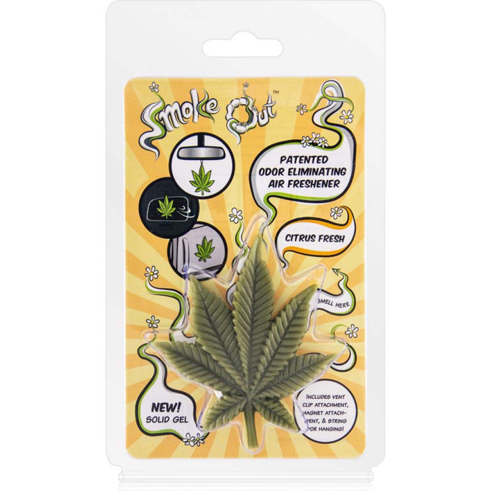 Air Freshener 3d Leaf in Citrus Fresh - View #1