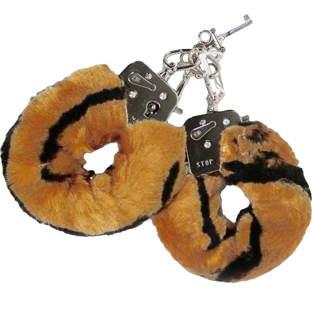 Golden Triangle Plush Love Cuffs Lion - View #2
