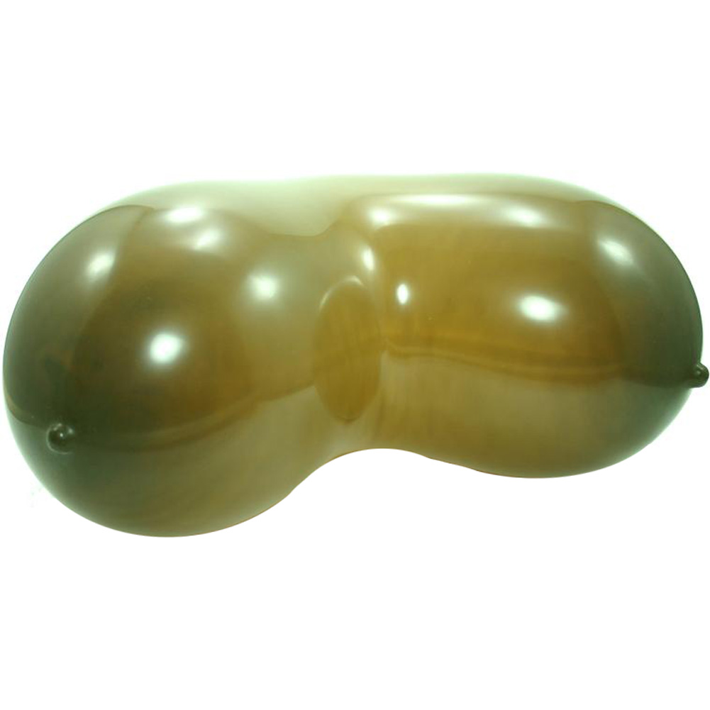 Golden Triangle Naughty Party Boobie Balloons Brown Pack of 6 - View #2