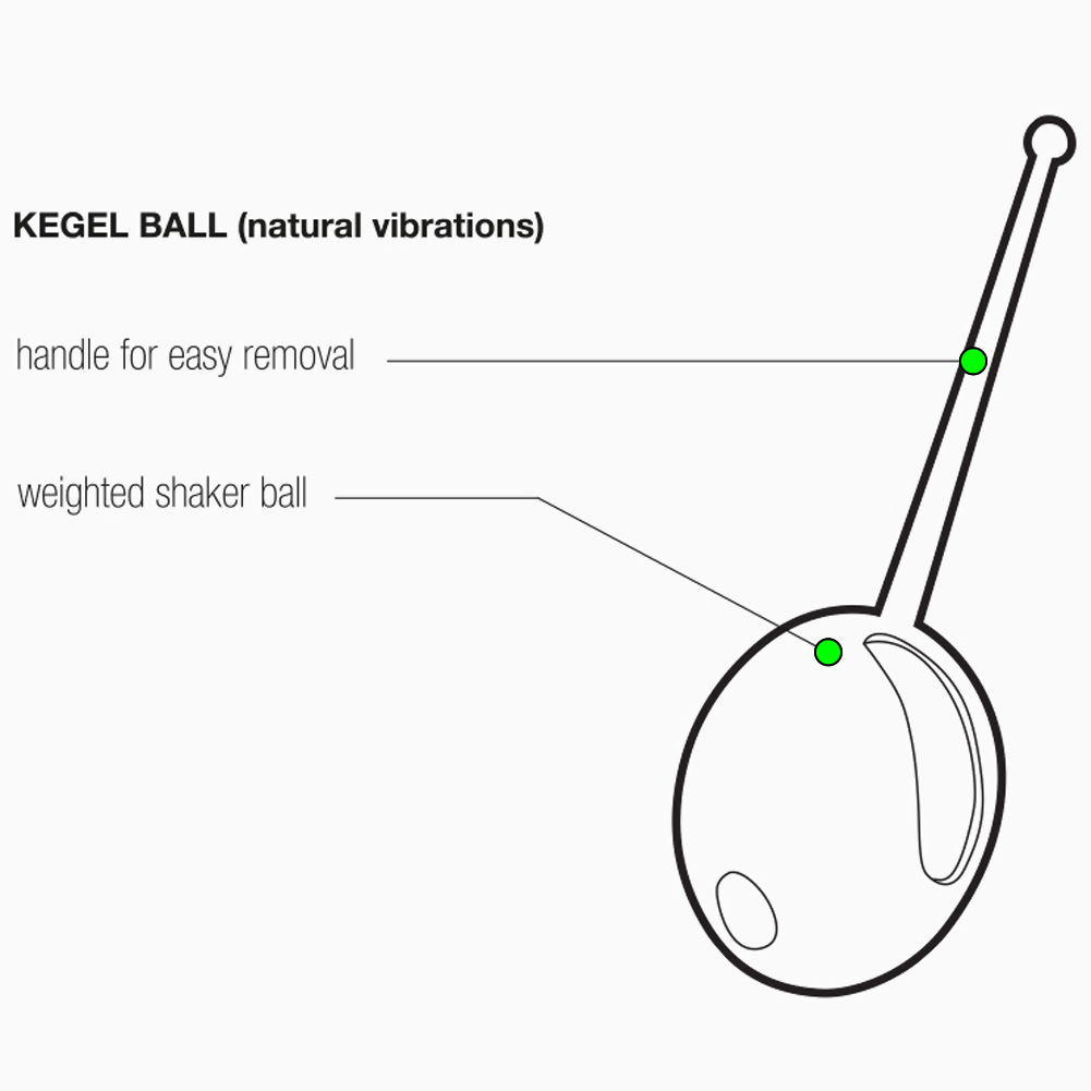 Plum Kegel Ball-Blpnk Make Me Blush Pink - View #1