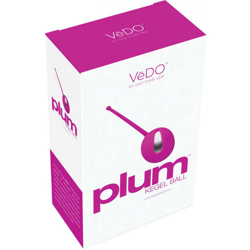 Vedo Plum Kegel Ball Hot in Bed Pink - View #4