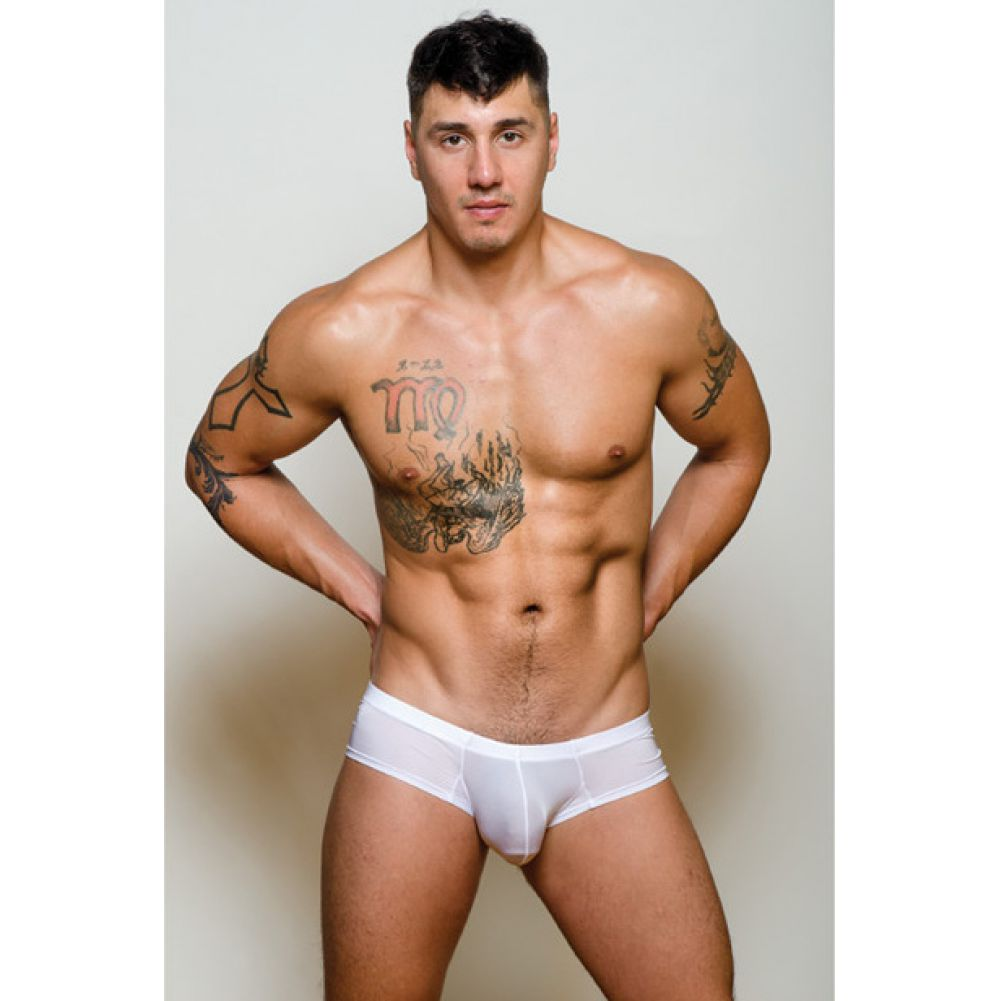 Pride Metro Bunz Boxer Plus Pouch White Small - View #1