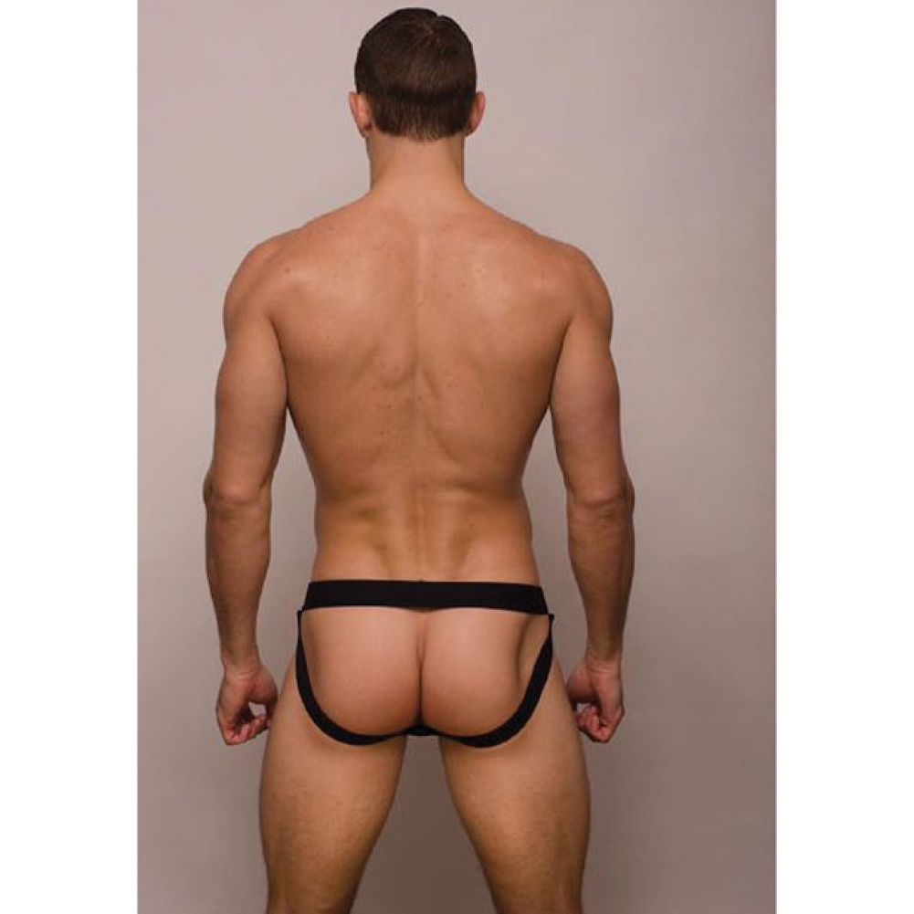 Pride Metro Drop Jock Strap Black Medium - View #2