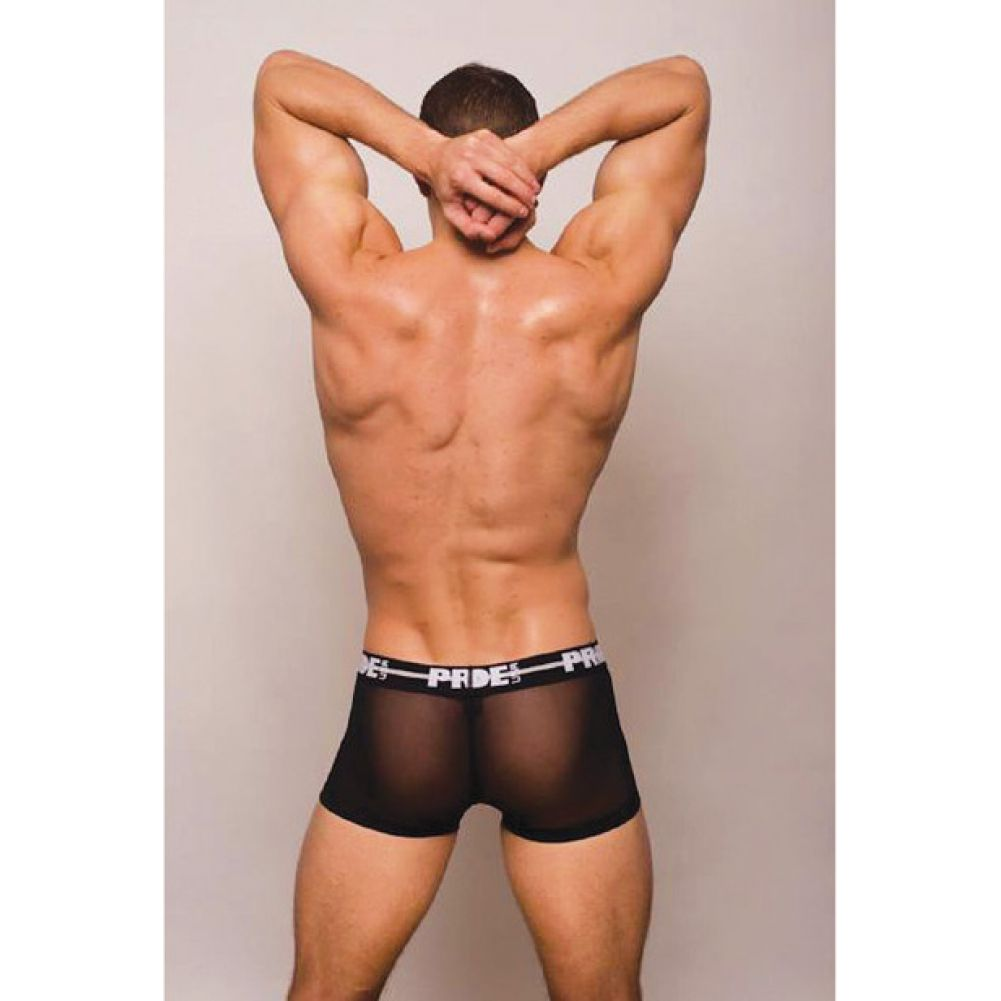 Pride Mesh Trunk Black Small - View #2