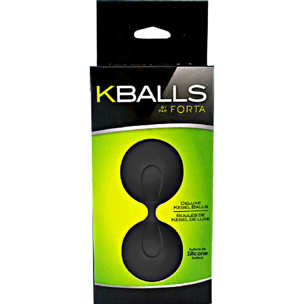 Vivo K-Balls Kegel Balls Black - View #1