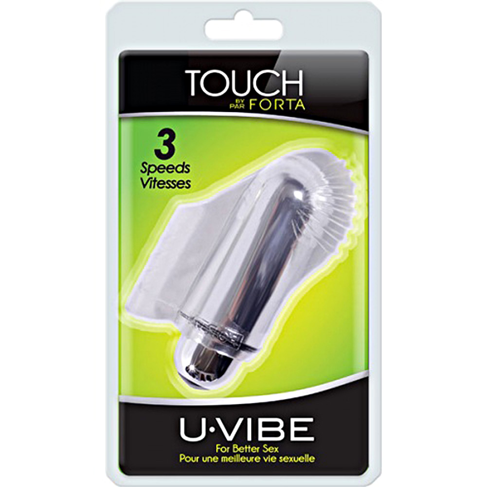 Vivo Uvibe Touch Finger Vibe Clear - View #1