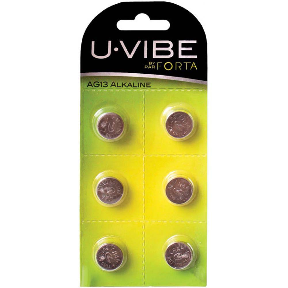 Uvibe Batteries Ag13 Pack of 6 - View #1