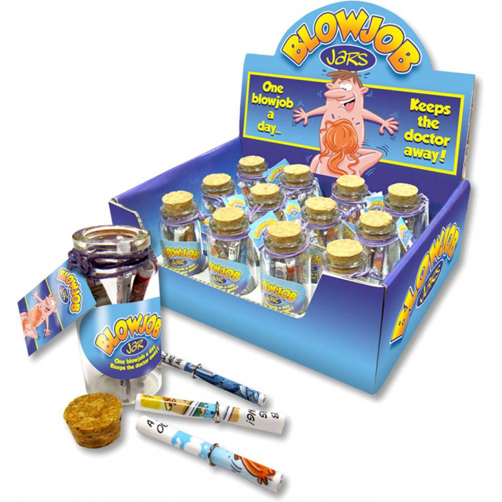 Ozze Blow Job Jars 12 Piece Pack - View #1