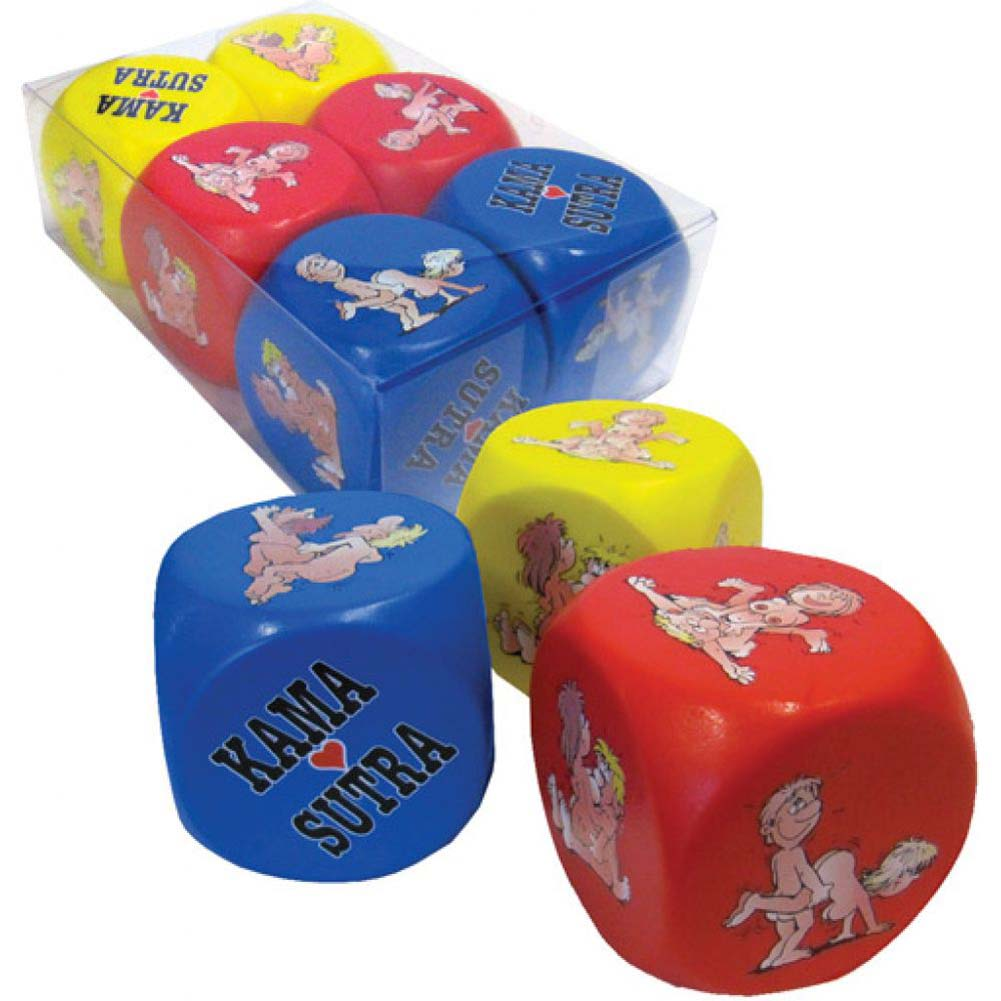 Kama Sutra Anti Stress Dice 6 Piece Pack - View #1