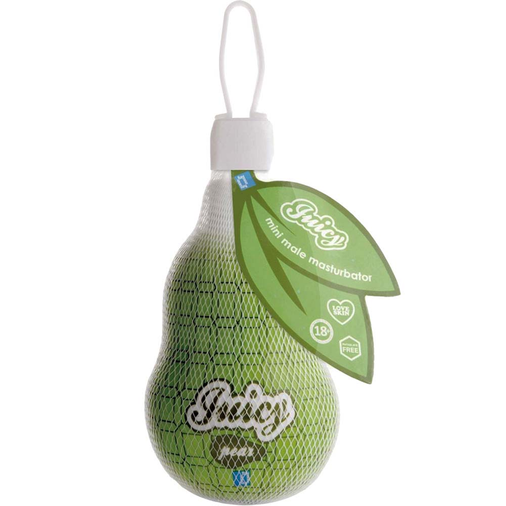 "FunZone Juicy Mini Male Masturbator 2.75"" Pear - View #3"