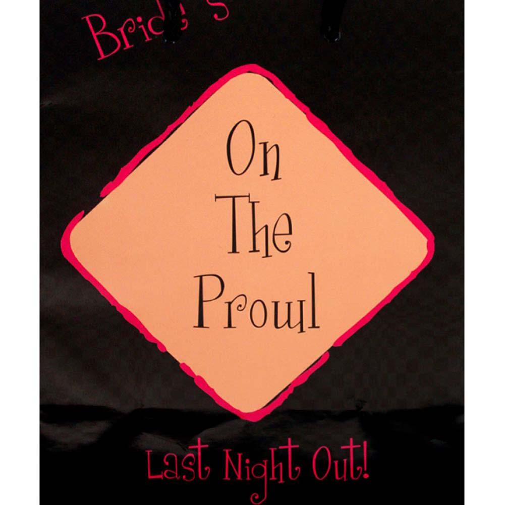 BrideS On the Prowl Last Night Out Gift Bag - View #1