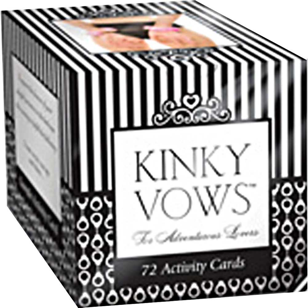 Kinky Vows for the Adventurous Lovers 72 Activity Cards - View #1