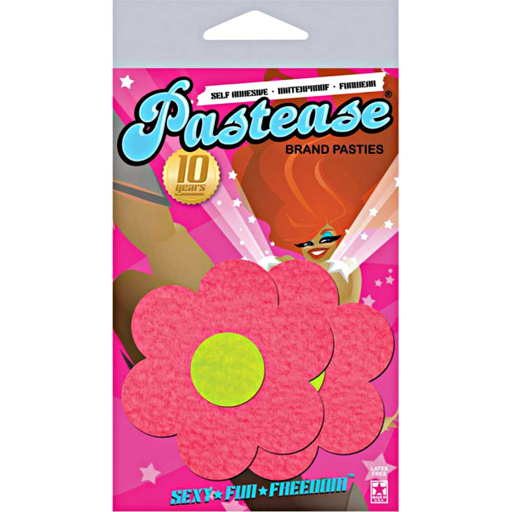 Pastease Daisy Neon Pink and Yellow One Size - View #3