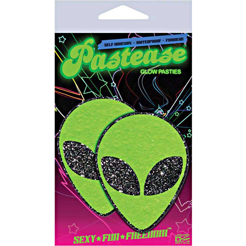 Pastease Green Glitter Alien One Size - View #4