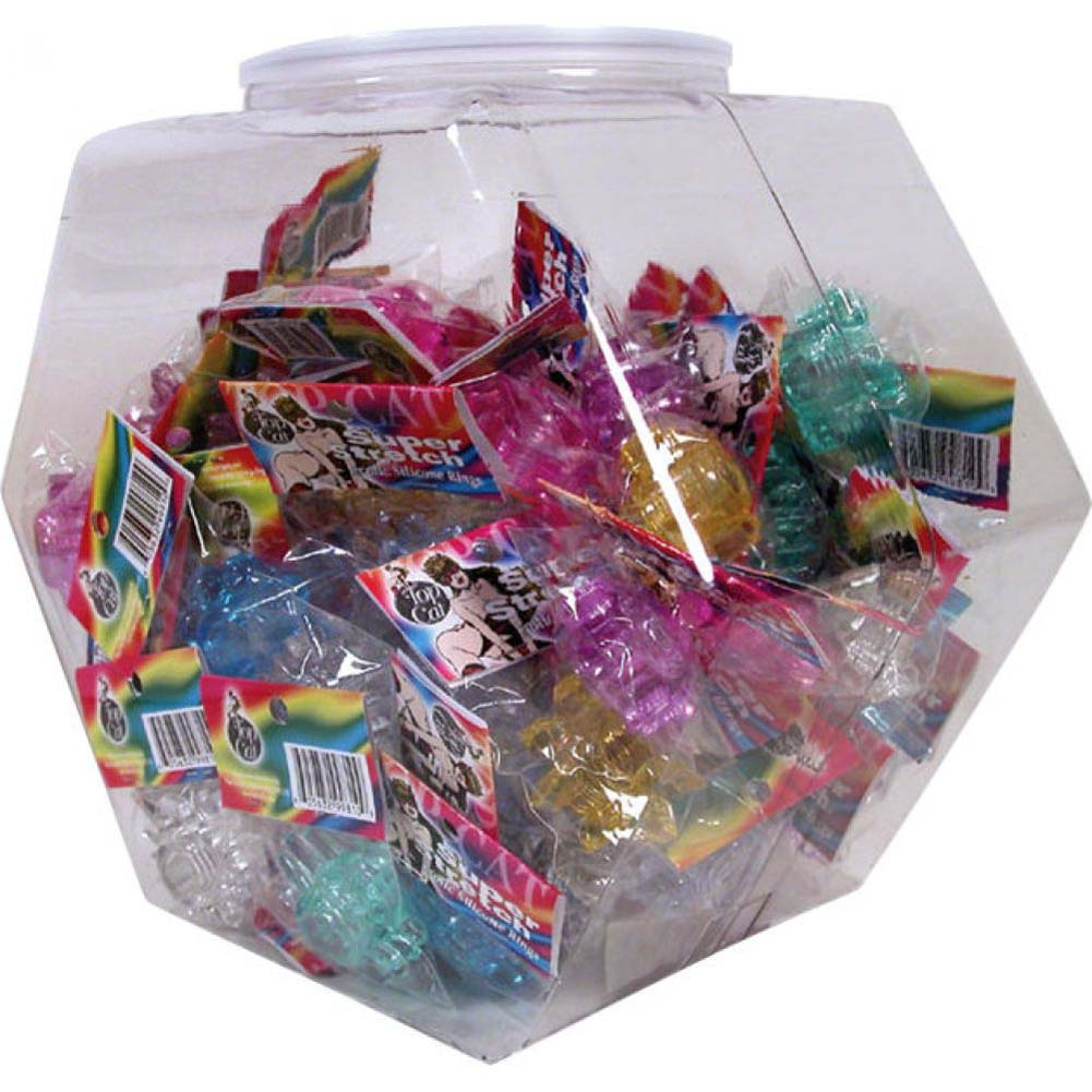 Top Cat Cock Rings Assorted 72 Piece Bowl - View #1