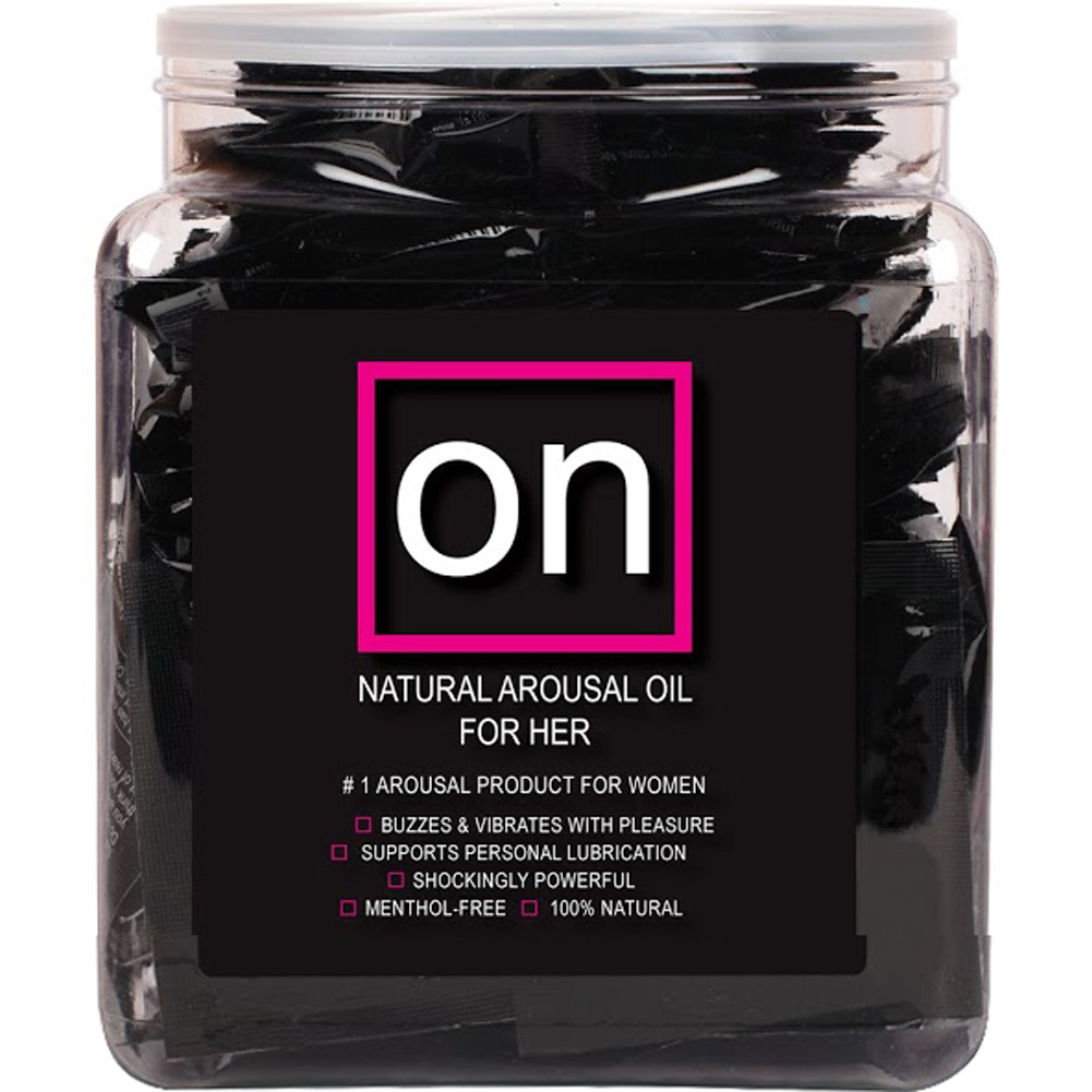 Valencia Naturals ON Ampoule Female Arousal Oil 75 Piece Display Black - View #2