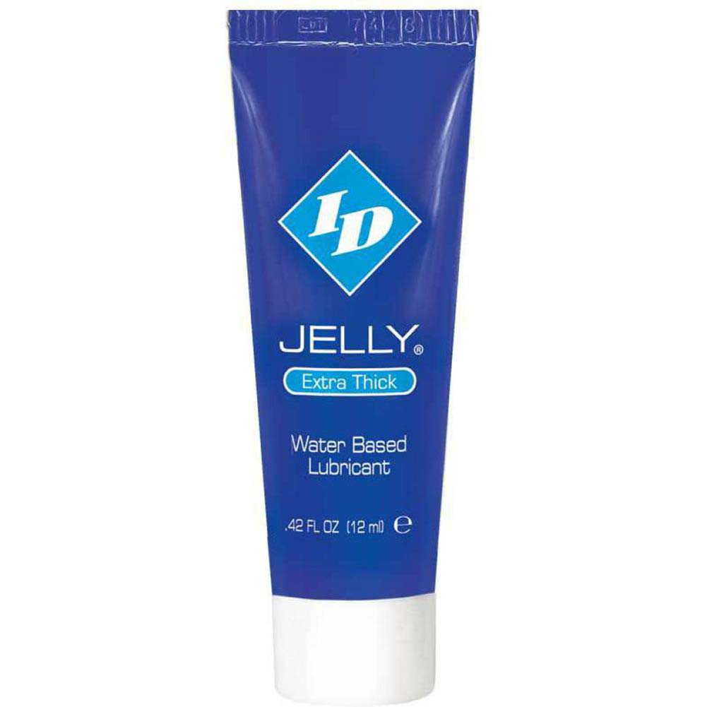ID Jelly Extra Thick Personal Lubricant 0.42 Fl.Oz 12 mL Tubes Bag 72 Tubes - View #1