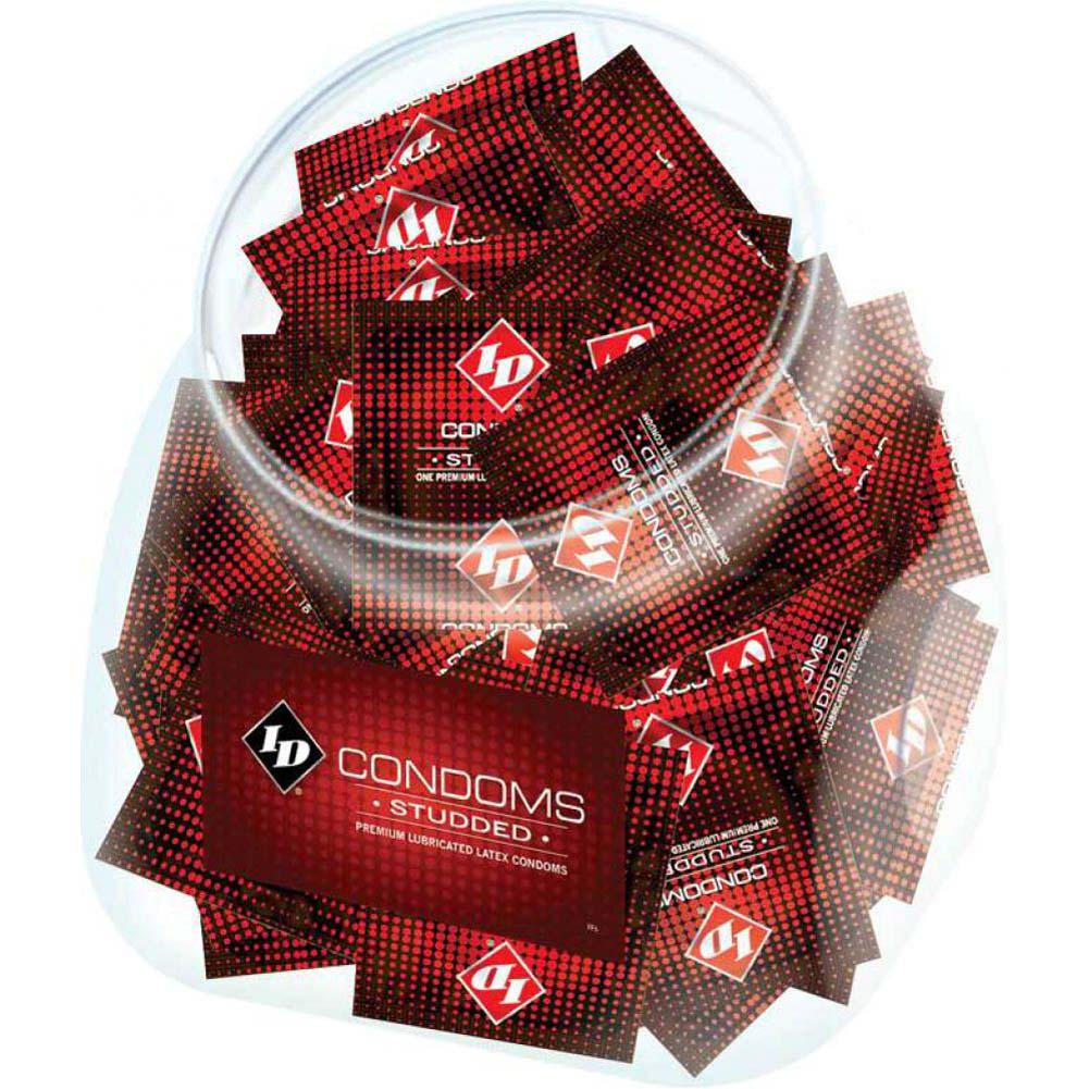 Id Studded Condoms144 Piece Jar - View #1