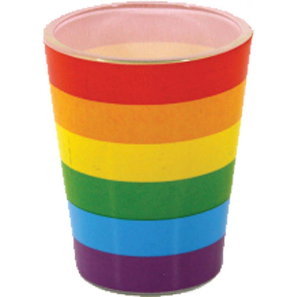 Rainbow Wrap Shot Glass 3 Piece Pack - View #1