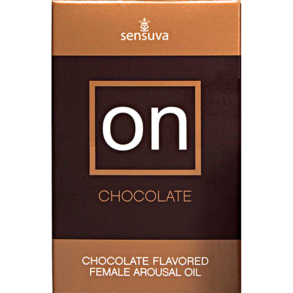 Sensuva On Flavored Female Arousal Oil 5 Ml Chocolate Pack of 12 - View #1