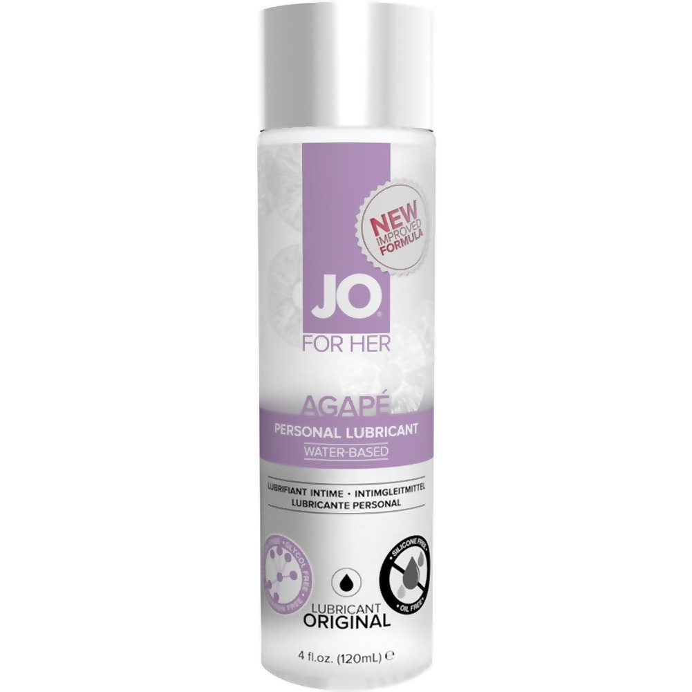 System JO for Her Agape Personal Lubricant 4 Fl.Oz 120 mL Original - View #1