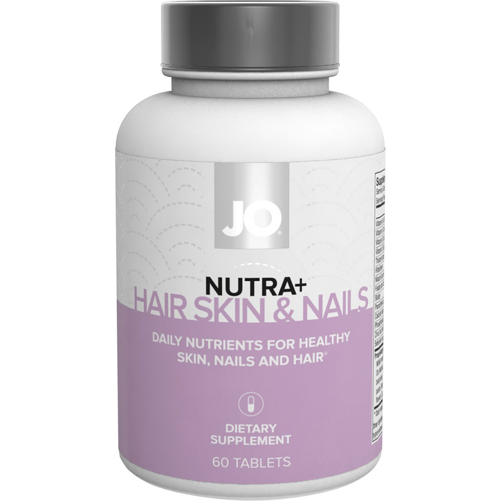 System Jo Nutra Hair Nail Skin Nutritional Supplement 60 Count Capsules - View #1