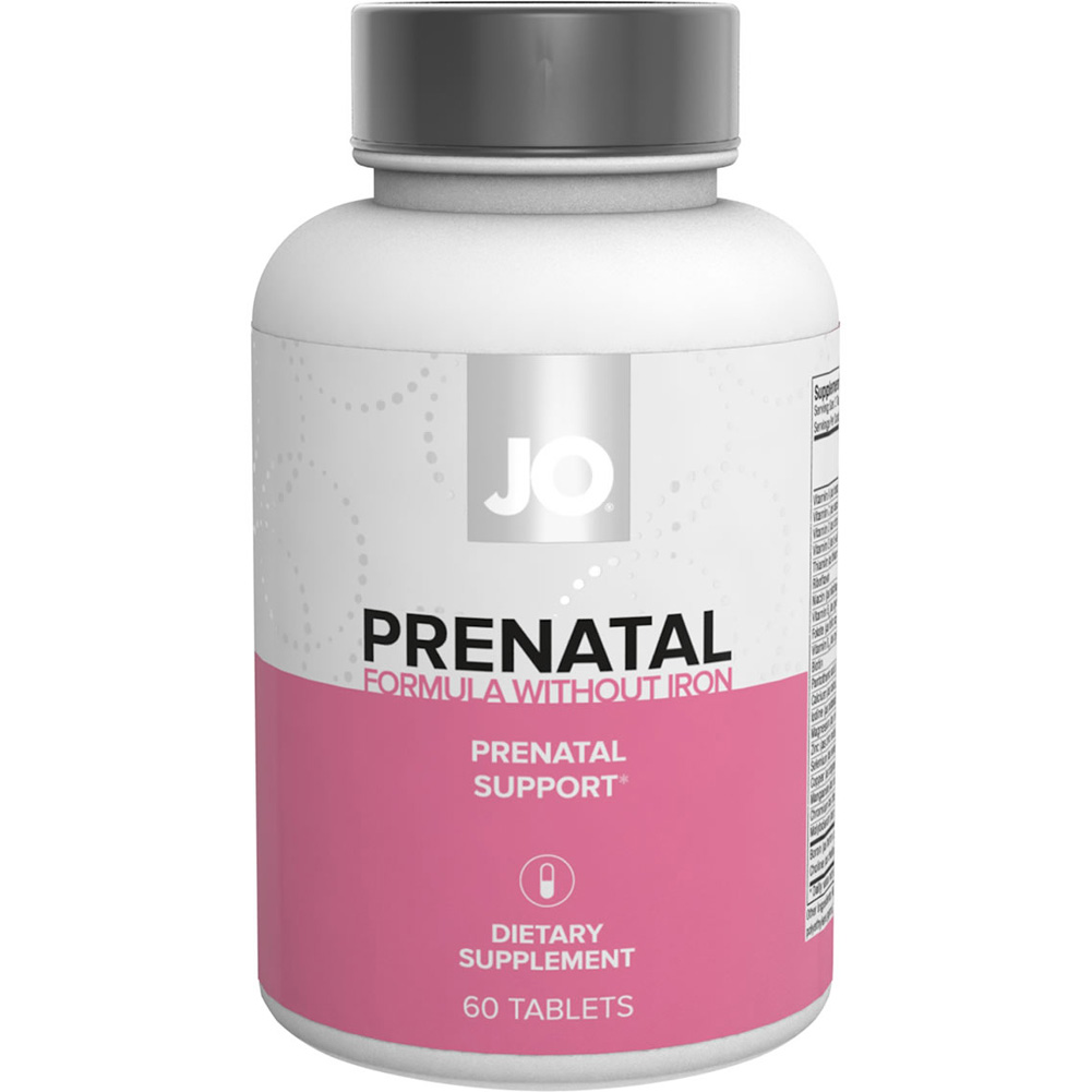 System Jo Prenatal Without Iron Nutritional Supplement 60 Count Capsules - View #1