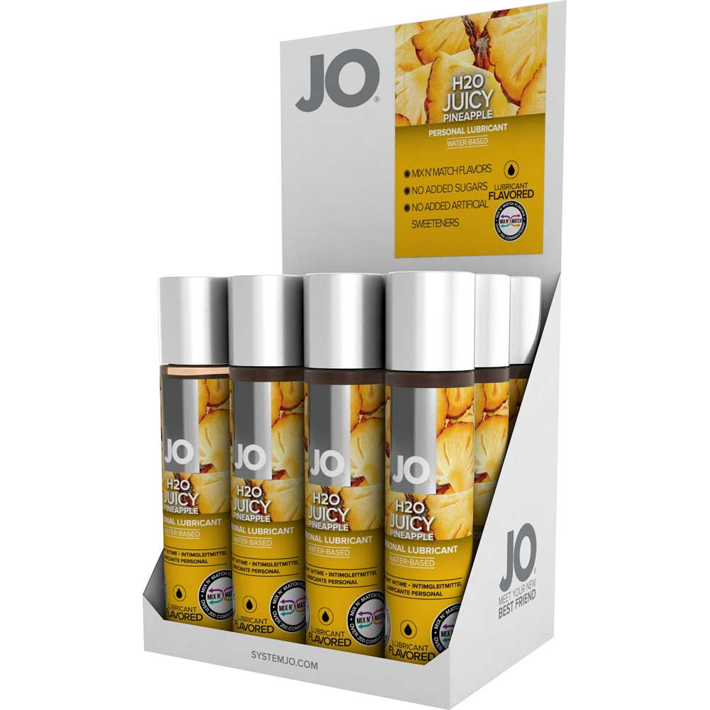 System Jo Flv Juicy Pineapple 1 Oz 12 Piece Display - View #2