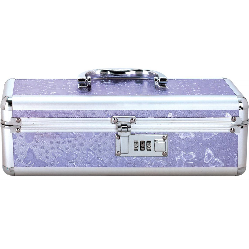 BMS Factory Lockable Vibrator Storage Case Small Purple - View #3