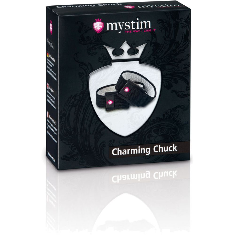 Mystim Charming Chuck Elastic Penis and Testicle Belts - View #1