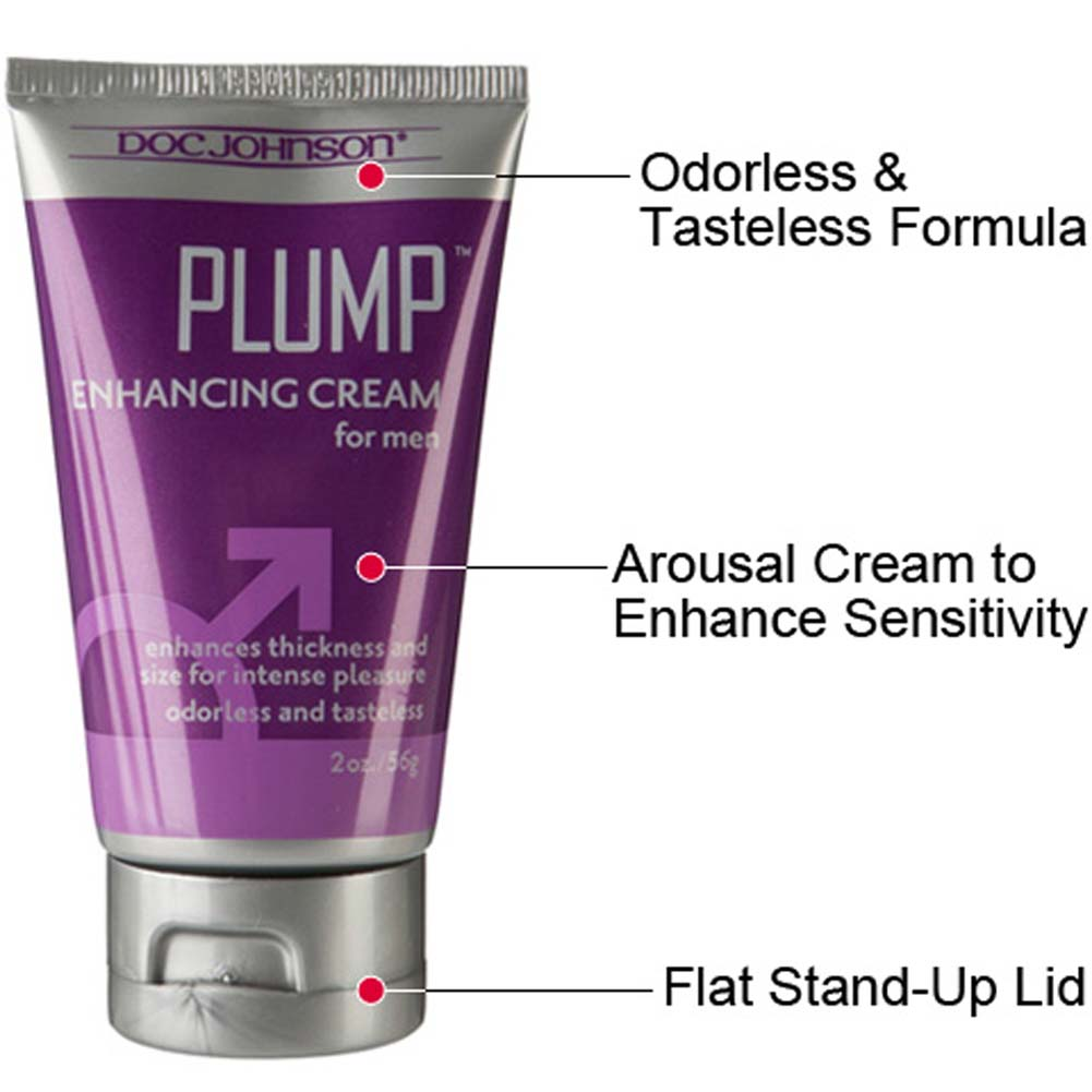Doc Johnson Plump Enhancement Cream for Men 2 Oz 56 G Tube - View #1