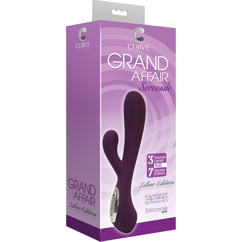 Curve Novelties Grand Affair Serenade Silver Edition Eggplant - View #1
