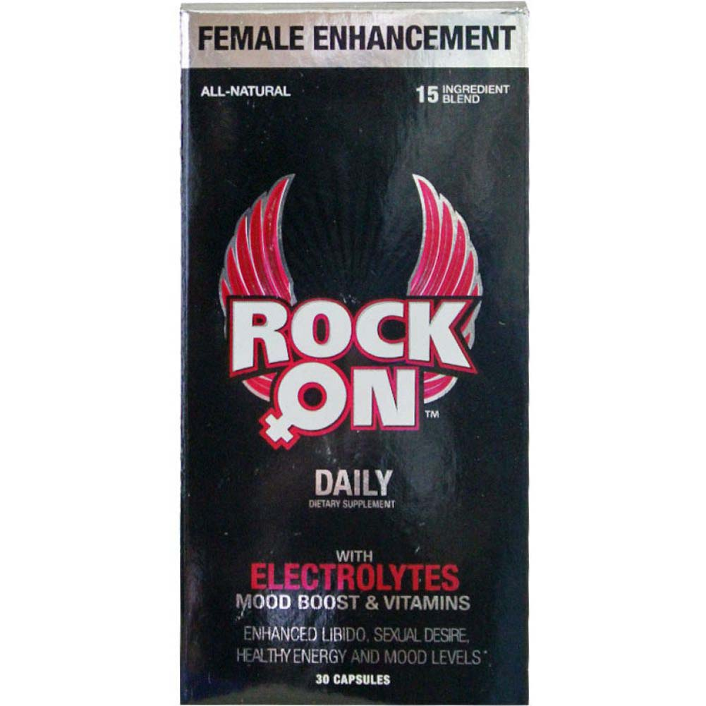 Rock On Daily Supplement for Her 30 Days - View #1