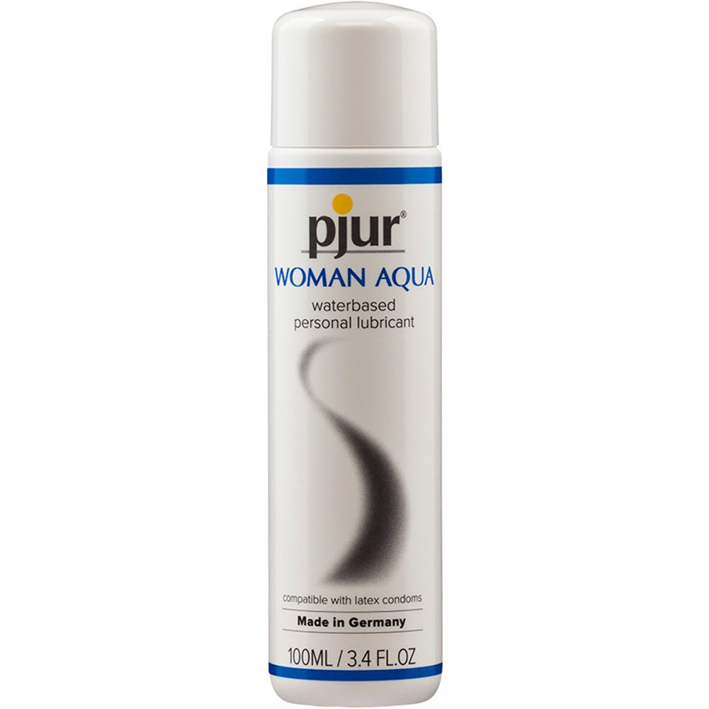Pjur Original Woman Aqua Water Based Intimate Lubricant 3.4 Fl.Oz 100 mL - View #2
