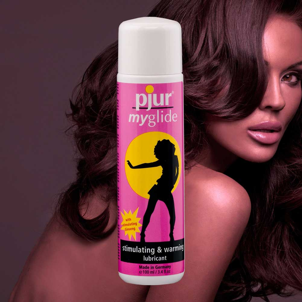 Pjur My Glide Stimulating and Warming Lubricant 100 Ml Bottle - View #3