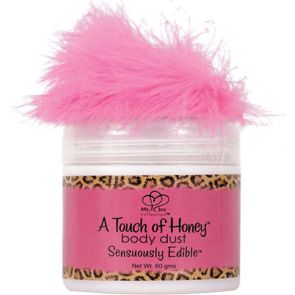 Touch of Honey Sensuously Edible Body Dust 2 Oz 60 G Passion Berries - View #2